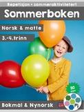 Norsk: Sommerboken 3-4 - norsk, matte og sommeraktiviteter [BM&NN]