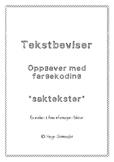 Norsk - Tekstbevis: Å lære å finne informasjon i tekster