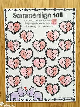 Norsk Valentine-pakke - 4-6 [BM & NN]