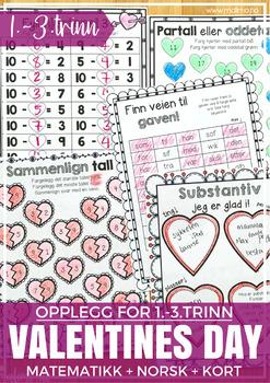 Norsk Valentine-pakke - 1-3 [BM & NN]