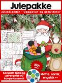 Norsk julepakke - Komplett opplegg innen matte, norsk og e