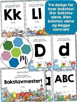 Norske alfabetdiplomer [BM&NN]
