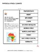 GEOGRAPHY: Africa Lapbook