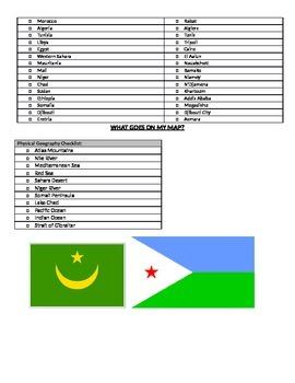 North Africa Map Challenge