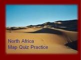 North Africa Map Quiz Practice Power Point
