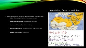 North Africa Southwest Asia Notes