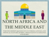 North Africa and Middle East Geography Unit Bundle