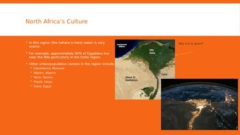 North Africa and Southwest Asia Cultural Geography