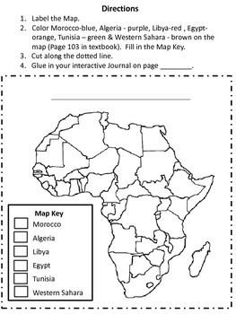 North African Map