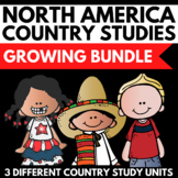 North America Booklet Continent Study