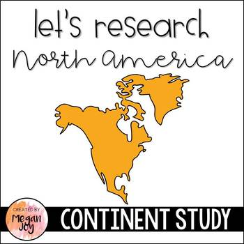 North America Continent Research Packet