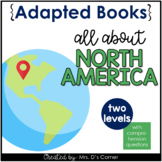 North America Adapted Books [ Level 1 and Level 2 ] | Eart
