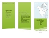 North America Activity (Make a Brochure)