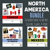 North America (Bundle): An Introduction to the Art, Culture, Sights, and Food