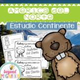 Continent Facts Booklet North America Spanish Edition