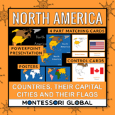 North America - Continent, Countries, their Flags and thei