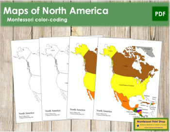 North America Control Maps and Masters