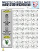 North America : Countries Puzzle Page (Wordsearch and Criss-Cross)