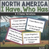 I Have, Who Has North America: Countries and Capitals