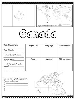 North America Country Fact Sheets