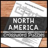 North America Crossword Puzzles