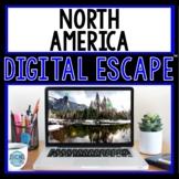 North America DIGITAL ESCAPE ROOM for Google Drive® USA | Geography