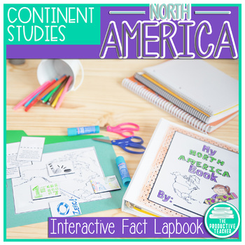 North America Facts Lapbook