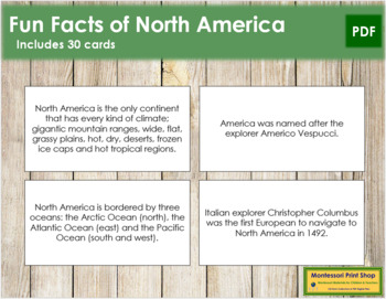 North America Fun Facts