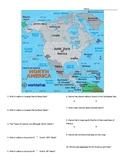 North America: Geographic Map
