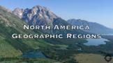 North America Geographic Regions Youtube Video Worksheet