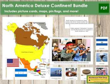 North America Geography Deluxe Bundle
