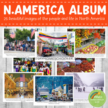 North America Montessori Geography Folder