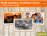 North America Geography Folder (color borders)