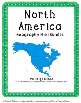 North America Geography Mini Bundle