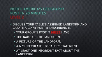 North America Geography Power Point