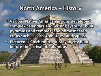 North America Geography PowerPoint