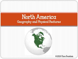 North America Geography and Physical Features Power Point