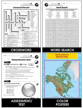 North America: Human and Environmental Interactions Gr. 5-8