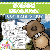 North America Continent Facts Booklet Unit