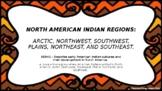 North America Indian Regions