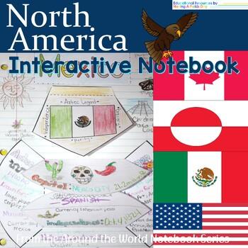 North America Interactive Notebook