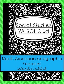 North America Interactive Notebook