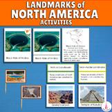North America Landmarks Activities