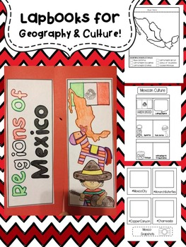 North America Lapbook Bundle