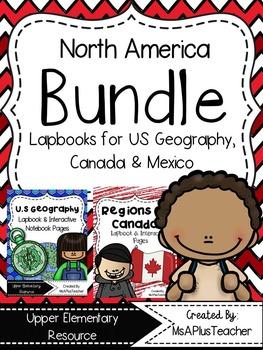 North America Lapbook Bundle