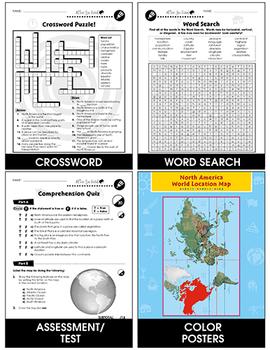 North America: Location Gr. 5-8