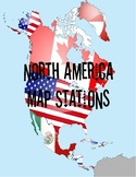 North America Map Stations