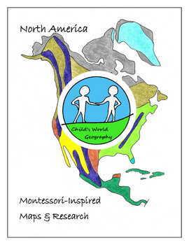 Montessori Maps & Research - North America