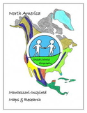 Montessori Maps & Research - North America