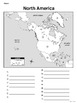 North America - Mapping Activity